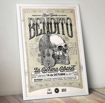BENDITO. A Graphic Design project by Pako Grafostilo         - 03.09.2017