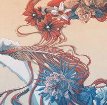 La pluma es femenina. Un proyecto de Ilustración de Tavo Montañez - 15-09-2017