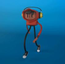 Walking Dude_Mi proyecto final para este curso. Un proyecto de Cine, vídeo, televisión, 3D, Dirección de arte, Diseño de personajes, Bellas Artes, Rigging y Animación de personajes de Damian Palleiro - 16-09-2017