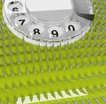Call me, please.... Um projeto de Design e 3D de Joaquim Vergara Pinilla         - 18.09.2017