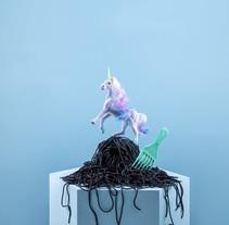 Mystic food. Un proyecto de Fotografía, Dirección de arte y Escenografía de I'm blue I'm pink  - 18-09-2017