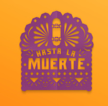 Hasta la muerte. A Illustration project by Dario  Nuñez - 02-11-2016