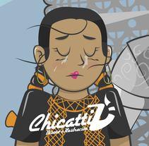 Mi Proyecto del curso: Diseño de personajes: desde el boceto hasta el arte final. A Illustration project by José Daniel Chicatti Villalobos         - 20.10.2017