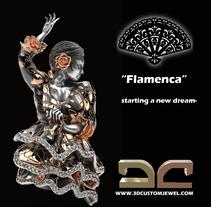 Flamenca. Um projeto de Design de joias de Diego  Aramburu - 23-09-2017