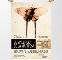 Diseño cartel espectáculo teatral. Un proyecto de Diseño gráfico de Comboi Gràfic         - 30.04.2014