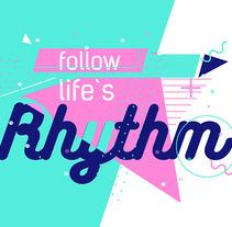 Follow life´s Rhythm. Un proyecto de Motion Graphics, Animación y Sound Design de Luz Victoria Romero         - 06.10.2017