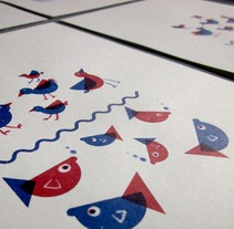 Mi Proyecto del curso: up and down. Um projeto de Ilustração, Direção de arte, Design gráfico, Diseño de patrones e Ilustración vectorial de Ariadna Torrents - 09-10-2017