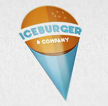 Diseño de logotipo: Iceburger. A Br, ing, Identit, Graphic Design, and Vector illustration project by Jenny Benito Gómez         - 16.10.2017