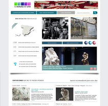 web La Ventana del Arte. A Web Design, and Web Development project by Pepe Delgado         - 19.10.2017