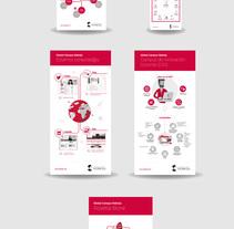 Infografías para Global Campus Nebrija. A Illustration, Information Architecture&Infographics project by Jose Martinez Fernandez-Pacheco - 24-10-2017