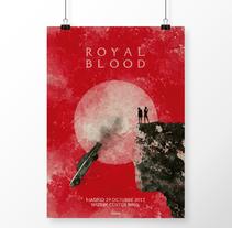 Royal Blood Madrid 29/10/17. Um projeto de Design gráfico de Noir  Design         - 25.10.2017