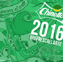refresca el arte 2016 CHINOTTO. A Vector illustration project by Cesar Veroes         - 26.10.2016