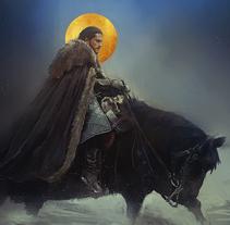 Jon Snow. Un proyecto de Ilustración de Jose Barrero         - 26.06.2017