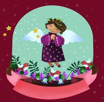 Proyecto Album navideño editorial San Pablo. Un proyecto de Ilustración de Tduran Salguero         - 30.10.2017