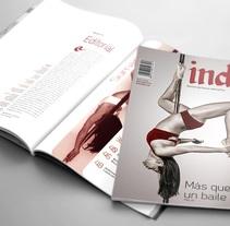 Indie, Revista de danza alternativa. A Design, Editorial Design, and Graphic Design project by Melisa Toloza         - 31.10.2017