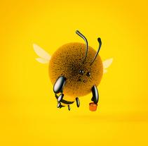 Mascota curso de Zigor Samaniego: De cero a render con Cinema 4D. Um projeto de 3D de Juan David Gallón Muñoz         - 31.10.2017