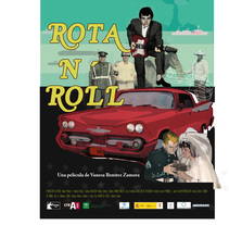 Cartel Documental Rota n´Roll. Um projeto de Cinema de Tduran Salguero         - 03.11.2017