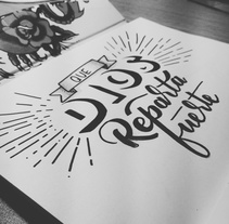 Hand Lettering. A Photograph, and Lettering project by Juan Palacios         - 05.11.2017