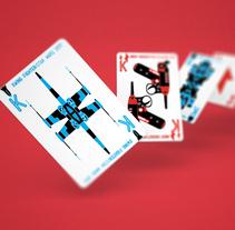 Sci-Fi Playing Cards. Um projeto de Design gráfico, Design de produtos e Ilustración vectorial de Jairo Alzate         - 03.06.2012