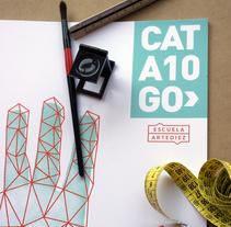 CAT/A10/GO>. Un proyecto de Diseño editorial y Diseño gráfico de Sergio Alvarez         - 11.11.2017
