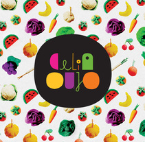 Celia Oujo (natural chef). A Illustration, Photograph, Art Direction, Graphic Design, Packaging, and Digital retouching project by Yolanda Go         - 16.02.2014