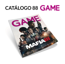 Catálogo 88 GAME. A Graphic Design project by Fernando Escolar López-Roso - 24-11-2017