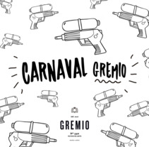 Carnaval Gremio. A Graphic Design, and Collage project by Sofia Hornung         - 25.11.2017