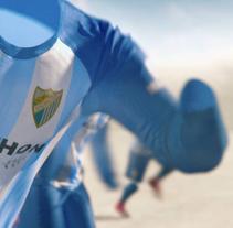 NIKE & Malaga CF .: new kit 2017-2018 :.. Un proyecto de Publicidad, 3D y Animación de Fabio Medrano - 26-06-2017