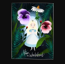 Alice in Wonderland. A Illustration, and Editorial Design project by lorena sanchez roman - 28-11-2017