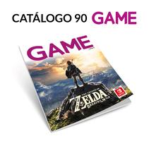 Catálogo 90 GAME. A Graphic Design project by Fernando Escolar López-Roso - 29-11-2017