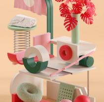 A2 Letter. Un proyecto de Ilustración y 3D de Serafim Mendes         - 16.11.2017