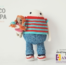 Coco and Pipa, story of two friends. A Character Design, To, Design, and Pattern design project by Maria Sommer         - 06.12.2017