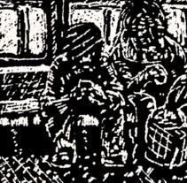 Transporte público. A Illustration, and Fine Art project by Arcimboldo de Mirima - 15-08-2017