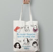 Tote Bag para lectores, escritores y fans de los libros. A Illustration, and Graphic Design project by Elisenda Barceló         - 02.12.2017