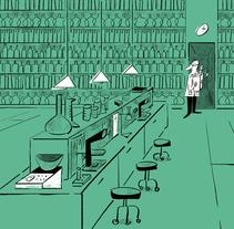 EL PAÍS. Un proyecto de Ilustración y Diseño editorial de Sandra  Navarro  - 19-12-2017