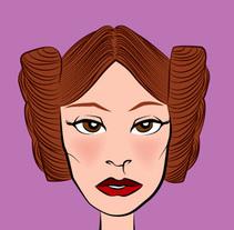 Star Wars Fan Art. A Vector illustration project by Carlos Vargas Gutiérrez         - 20.12.2017