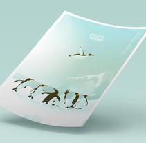 Xmas Cristina Blanco 2017. Un proyecto de Ilustración, Diseño de personajes y Diseño editorial de Julio Ríos         - 23.12.2017