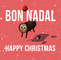 Feliz Navidad 2017!. A Design, Motion Graphics, 3D, Animation, Character Design, VFX, Rigging, and Character animation project by Ivan PC - 24-12-2017