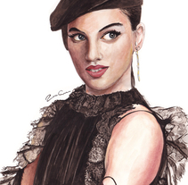 Retrato. A Illustration, and Fashion project by Rosa García - 25-12-2017