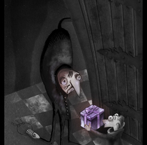 Regalito. A Illustration project by Rafael Blasco Ramírez         - 29.12.2017