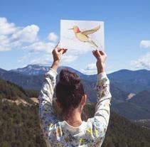 Libertad, el colibrí.. Un proyecto de Ilustración de The Wild Rocks - 03-01-2018