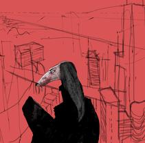 Galgópolis. A Illustration project by Rafael Blasco Ramírez         - 04.01.2018