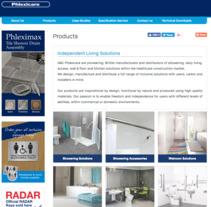 Manejo de contenido y creacion de graficos para N&C Phlexicare Website. A Graphic Design, and Web Design project by Elena Barroso Sanz         - 16.11.2017