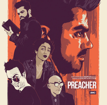 Preacher. A Illustration, and Vector illustration project by CranioDsgn  - 20-10-2017