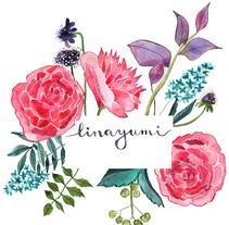 Mis flores y yo. Un proyecto de Ilustración de Lina Yumi Traspaderne         - 13.01.2018