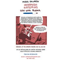 Taller para dibujantes, aficionados a la novela gráfica en México. No os lo perdais!. Un proyecto de Comic de Miguel Gallardo         - 13.01.2018