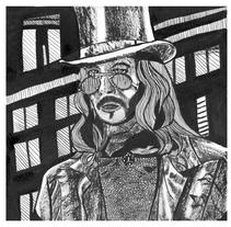 Mi Proyecto del curso: Técnicas de entintado para cómic e ilustración. A Illustration project by Mireia         - 19.01.2018