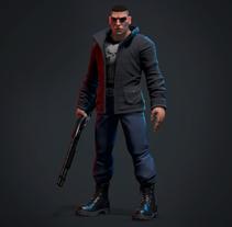 The Punisher. Um projeto de 3D e Design de personagens de gesiOH         - 24.01.2018