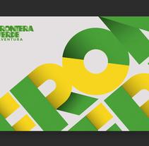 FRONTERA VERDE. Un proyecto de Dirección de arte, Br, ing e Identidad, Diseño gráfico, Lettering e Ilustración vectorial de mauro hernández álvarez         - 26.01.2018