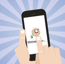 "Presentación ""Ithmaar Bank's eQ app"". Um projeto de Animação de María Terrazas Alber         - 28.01.2018"